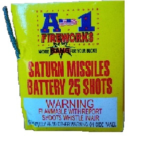 A1 25 Shot Saturn Missile
