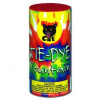 Tie Dye Fountain Black Cat